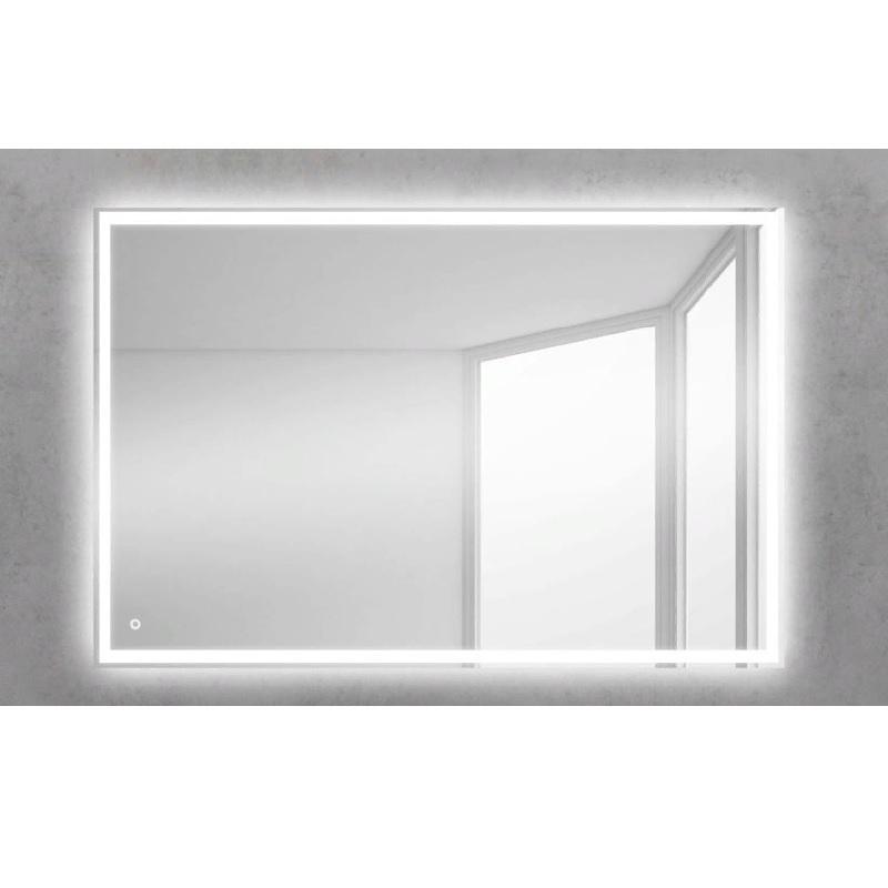 настенное зеркало с увеличительным эффектом и сенсорным включателем подсветки valera optima light smart 207 09 Зеркало BelBagno SPC-GRT 100 с сенсорным выключателем с подсветкой