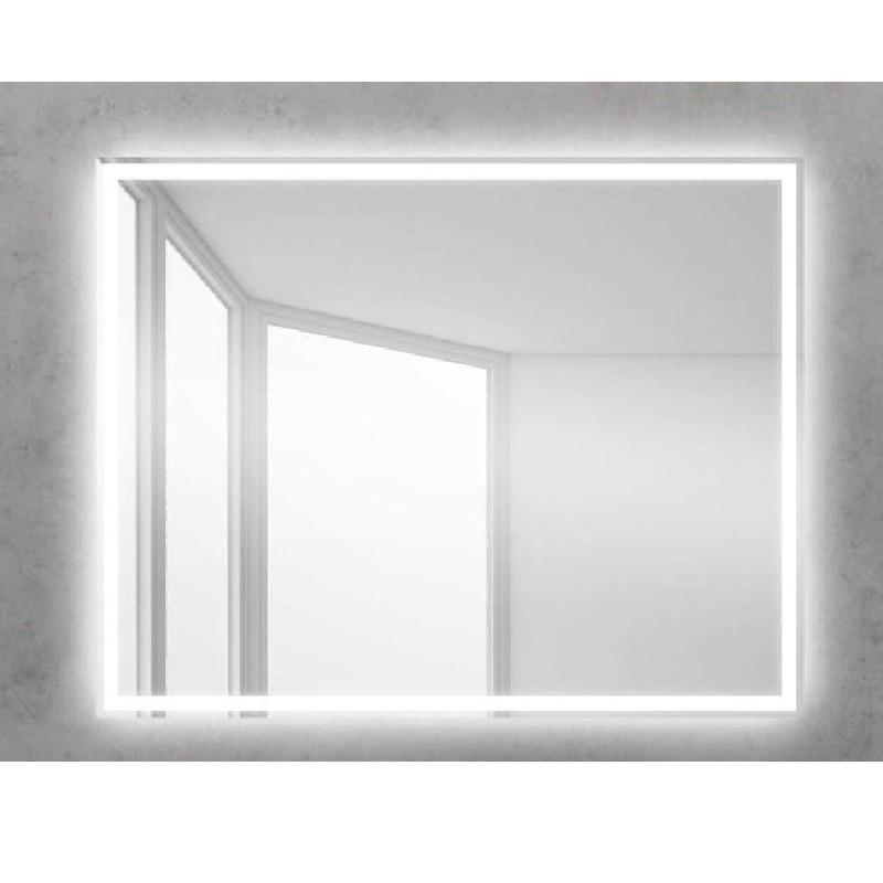 Зеркало BelBagno SPC-GRT 100 с сенсорным выключателем с подсветкой зеркало belbagno spc grt 120 с кнопочным выключателем с подсветкой