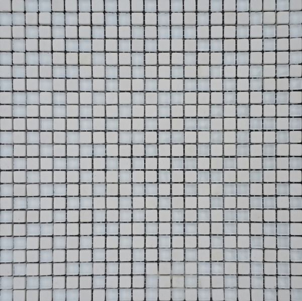 Мозаика Orro Mosaic Glasstone Nano White стекло+камень 30х30 см мозаика orro mosaic glasstone decan стекло камень 30х30 см