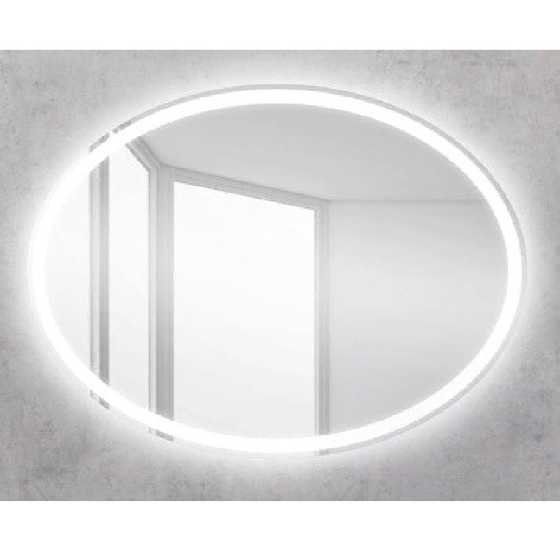 Зеркало BelBagno SPC-VST 75 с кнопочным выключателем с подсветкой зеркало smile арабеско 70 с подсветкой с кнопочным выключателем с розеткой