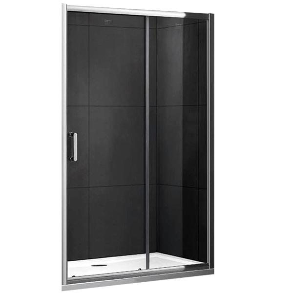 цена на Душевая дверь в нишу Gemy S30191G 170 профиль Хром стекло прозрачное
