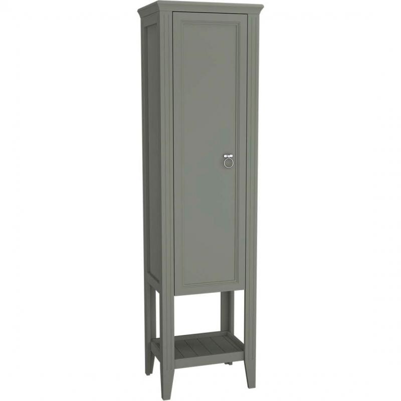 Шкаф пенал Vitra Valarte 55 62241 L Серый матовый