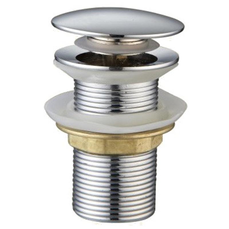 Фото - Донный клапан CeramaLux RD004 Хром донный клапан raiber rlbt 58 хром