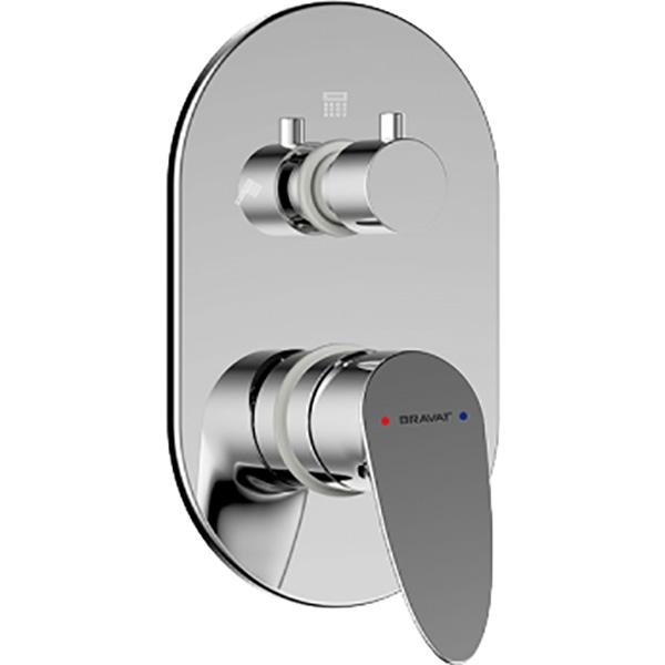 Смеситель для душа Bravat Drop P69190C-RUS Хром смеситель для душа bravat waterfall f939114c 01a rus хром