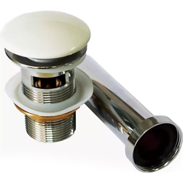 Фото - Донный клапан CeramaLux RD001/002 с переливом донный клапан с переливом raiber rlbt 58