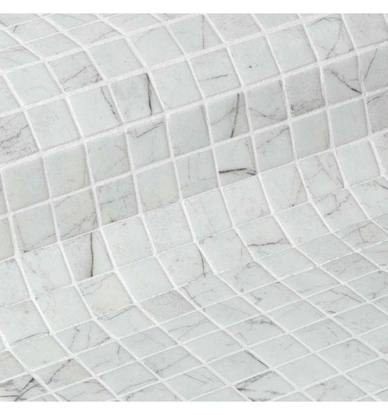 Стеклянная мозаика Ezarri Zen Carrara 31,3х49,5 см стеклянная мозаика ezarri zen tigrato 31 3х49 5 см
