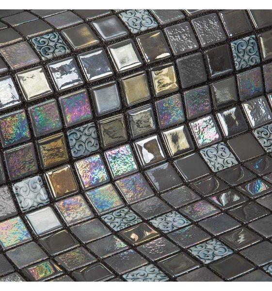 Стеклянная мозаика Ezarri Topping Mochi 31,3х49,5 см
