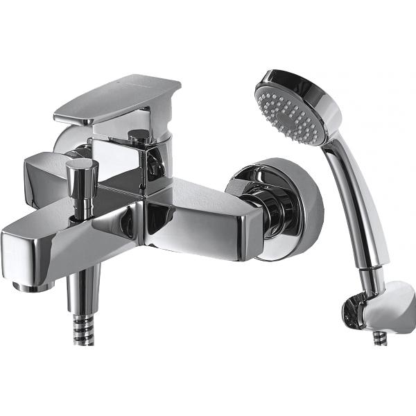 Смеситель для ванны Bravat Riffle F672106C-B Хром смеситель для ванны bravat riffle f672106c 01 хром