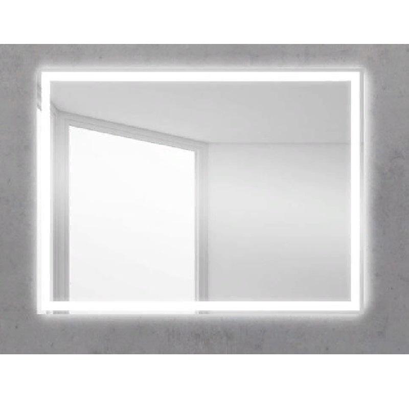 Зеркало BelBagno SPC-GRT 90 с сенсорным выключателем с подсветкой зеркало belbagno spc grt 120 с кнопочным выключателем с подсветкой