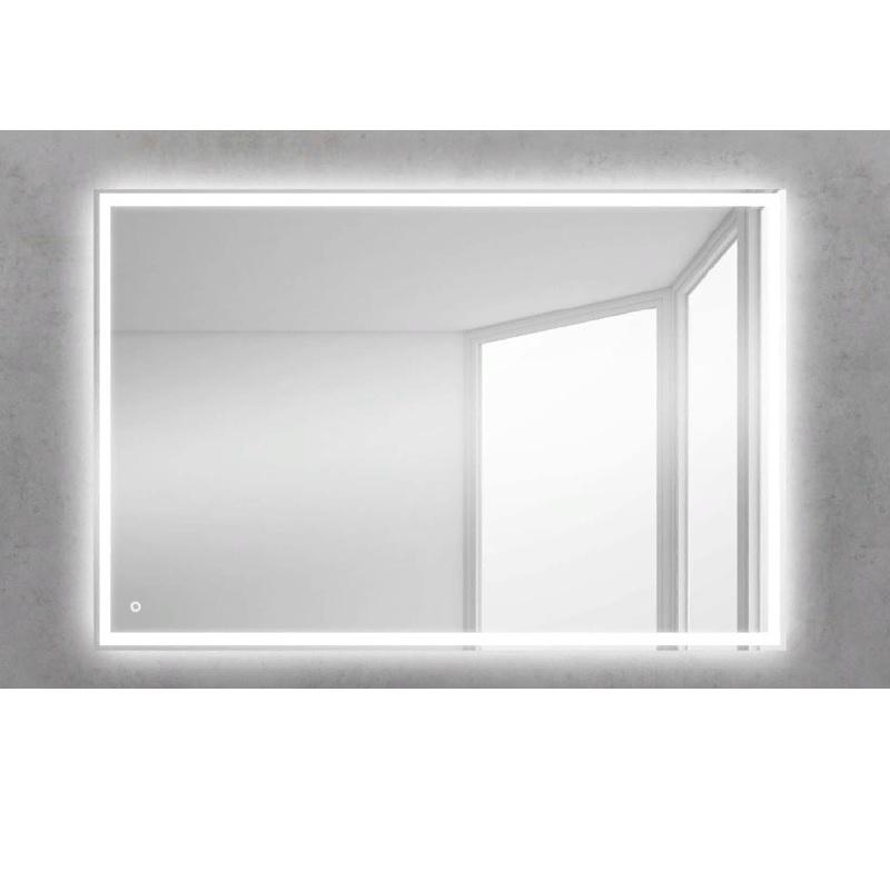 Зеркало BelBagno SPC-GRT 90 с кнопочным выключателем с подсветкой зеркало belbagno spc grt 120 с кнопочным выключателем с подсветкой