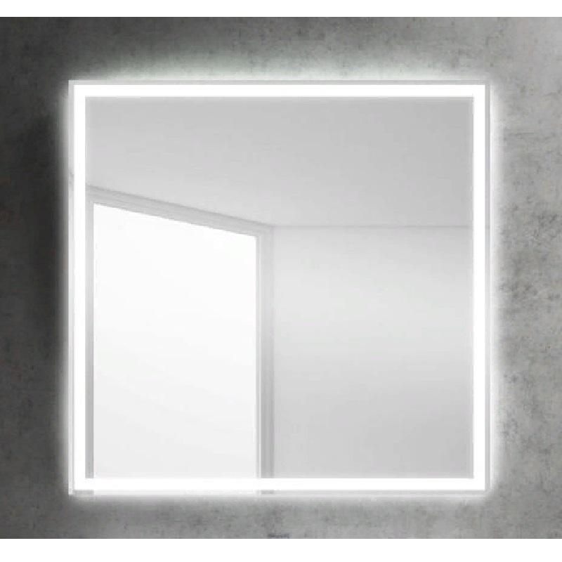 Зеркало BelBagno SPC-GRT 80 с кнопочным выключателем с подсветкой зеркало belbagno spc grt 120 с кнопочным выключателем с подсветкой