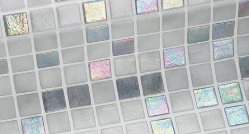 Стеклянная мозаика Ezarri Iris Mix Stone 31,3х49,5 см