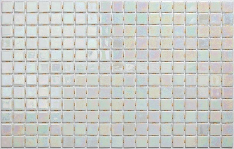 Стеклянная мозаика Ezarri Iris Perla Anti 31,3х49,5 см мозаика из стекла для бассейна alma flicker nd909