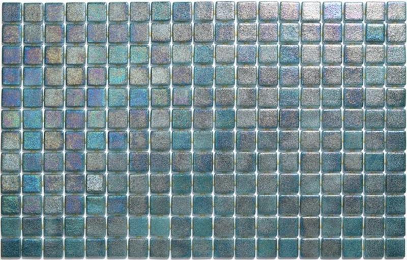 Стеклянная мозаика Ezarri Iris Jade Anti 31,3х49,5 см мозаика из стекла для бассейна alma flicker nd909