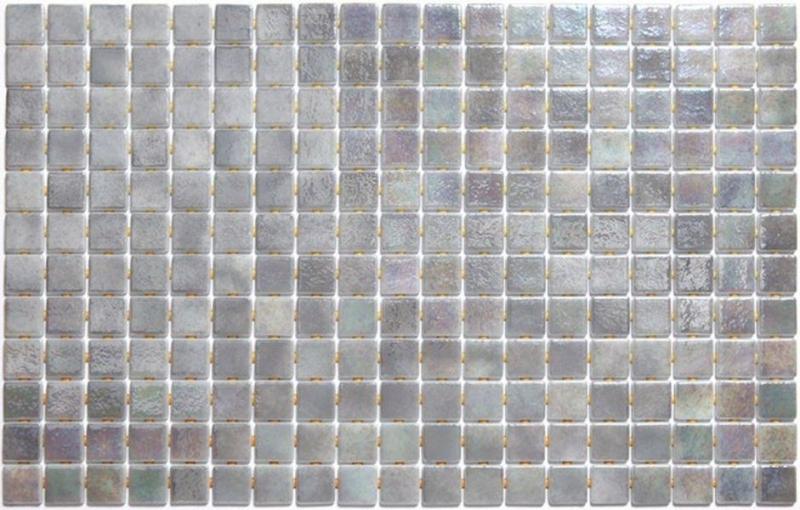 Стеклянная мозаика Ezarri Iris Cuarzo Anti 31,3х49,5 см мозаика из стекла для бассейна alma flicker nd909