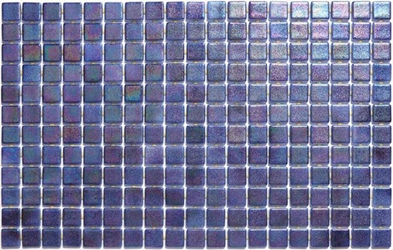 Стеклянная мозаика Ezarri Iris Zafiro Anti 31,3х49,5 см мозаика из стекла для бассейна alma flicker nd909