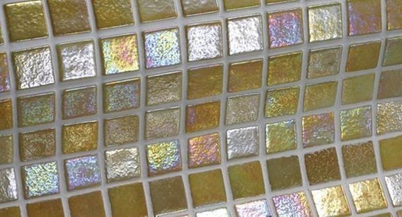 Стеклянная мозаика Ezarri Iris Ambar 31,3х49,5 см