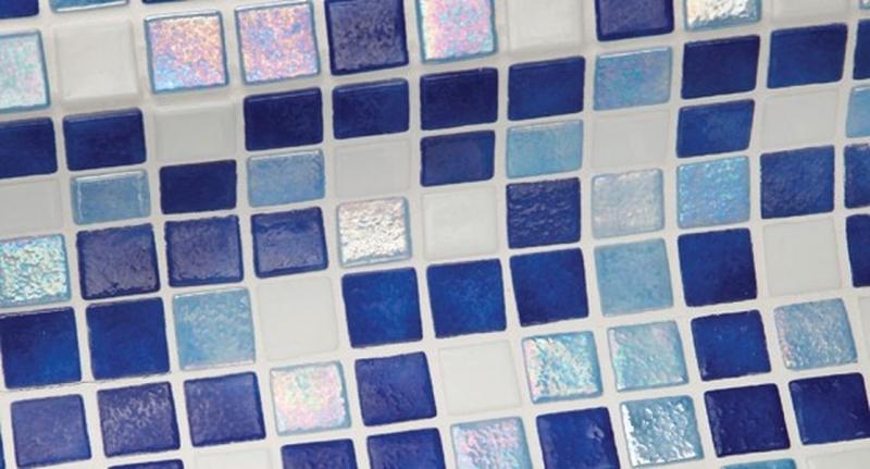 Стеклянная мозаика Ezarri Iris Mix Oasis 31,3х49,5 см