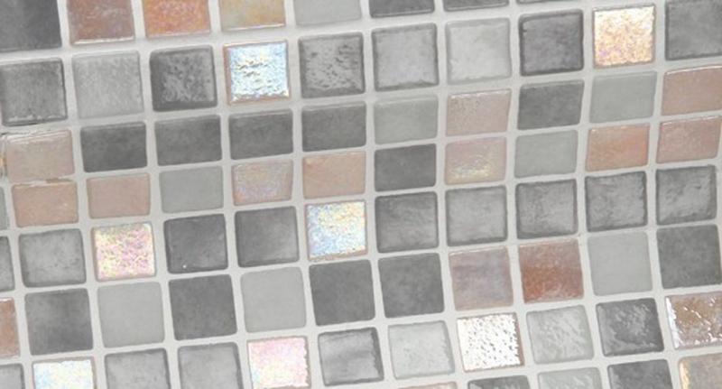 Стеклянная мозаика Ezarri Iris Mix Moon 31,3х49,5 см