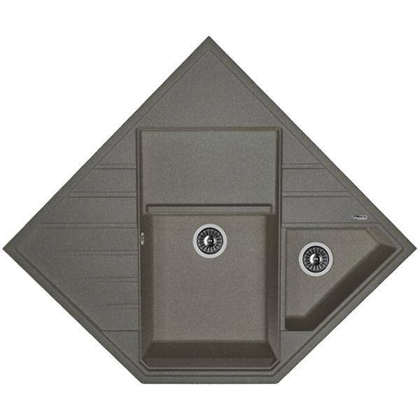 Купить Кухонная мойка, Бомбей 20.375.J0900 Черный, Florentina, Россия