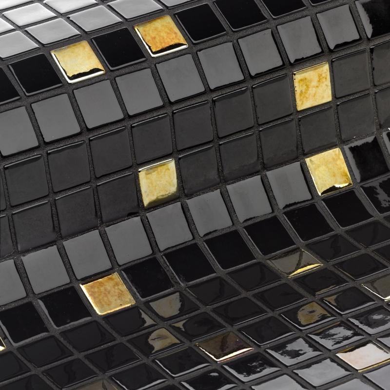 Стеклянная мозаика Ezarri Cocktail Eclipse 31,3х49,5 см