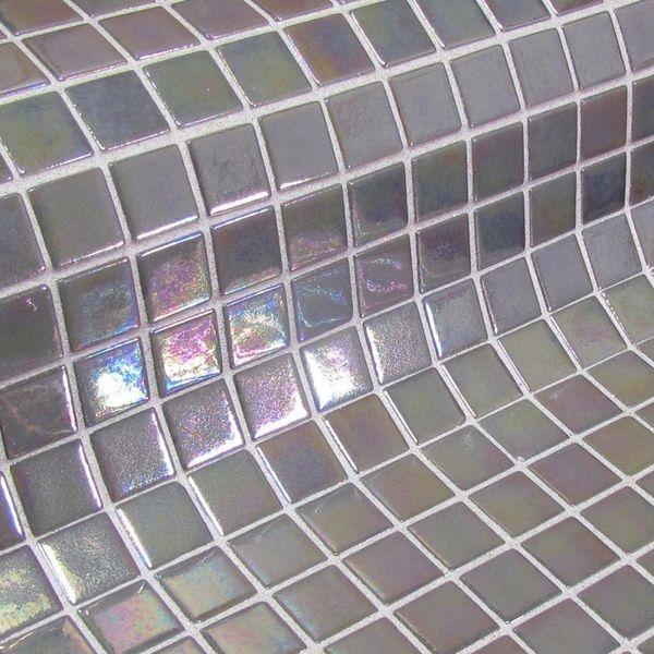 Стеклянная мозаика Ezarri Fosfo Mix Grey Iris 31,3х49,5 см