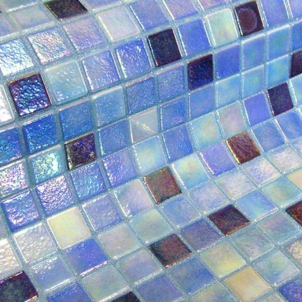 Стеклянная мозаика Ezarri Fosfo Mix Delphinus 31,3х49,5 см