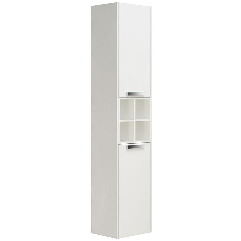 Шкаф пенал Roca Lago 35 857297806 подвесной Белый глянец шкаф пенал bellezza рокко 35 подвесной красный белый