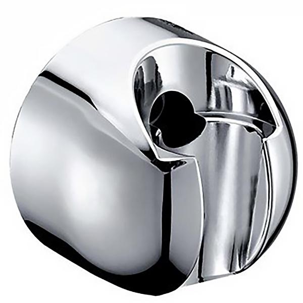 A009 ХромДушевые гарнитуры<br>Держатель душевой лейки WasserKRAFT A009.<br>Крепление на стену, фиксированный.<br>Материал: ABS-пластик.<br>Хромоникелевое покрытие.<br>