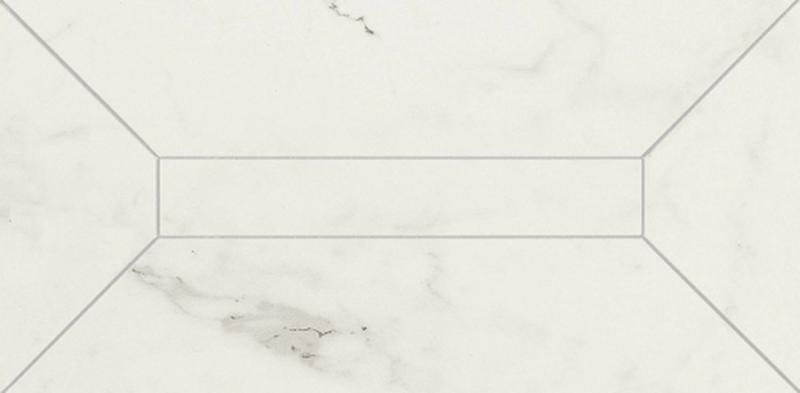Керамический бордюр Marazzi Italy Allmarble Altissimo Listone 3D Lux MMR6 15х30 см керамогранит marazzi italy allmarble altissimo silk mmhn 87х87 см