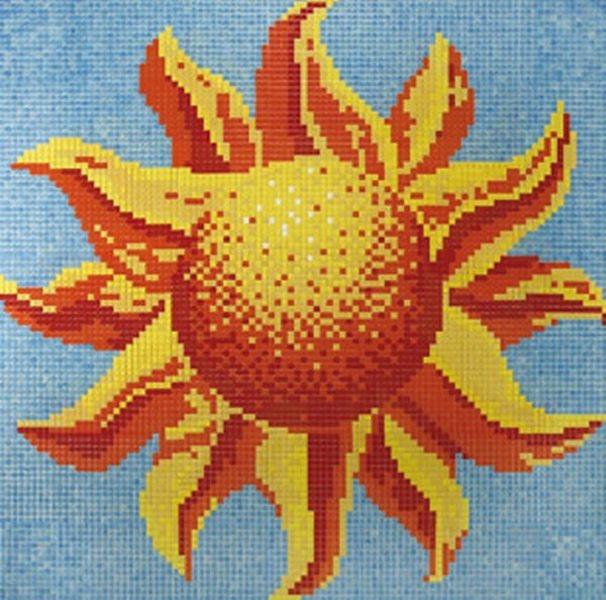 Стеклянная мозаика Ezarri Панно D - 41 / 2508 - А 248х250 см стеклянная мозаика ezarri панно d – 56 2508 а 250х250 см