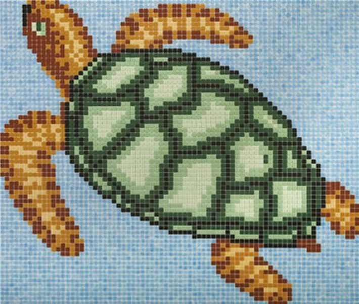 Стеклянная мозаика Ezarri Панно D – 35 / 2505 - А 180х198 см