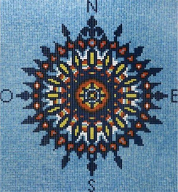 Стеклянная мозаика Ezarri Панно D - 11 / 2508 - А 276х305 см стеклянная мозаика ezarri панно d – 56 2508 а 250х250 см