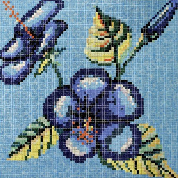 Стеклянная мозаика Ezarri Панно D – 63 / 2508 - А 203х203 см стеклянная мозаика ezarri панно d – 56 2508 а 250х250 см