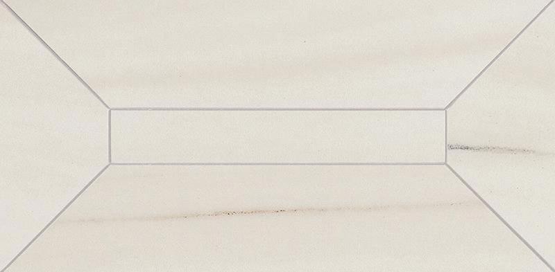 Керамический бордюр Marazzi Italy Allmarble Lasa Listone 3D Lux MMR4 15х30 см