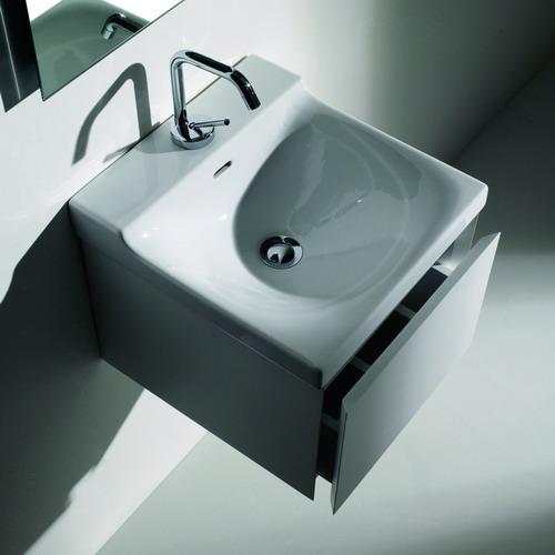 Buddy 9106 400 ммМебель для ванной<br>Тумба под раковину Kerasan Buddy 9106 лакированная белая глянцевая.<br>