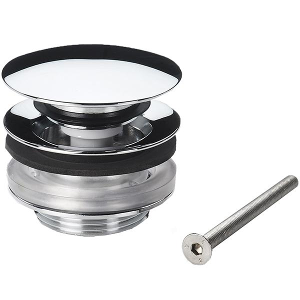 159056V ХромКомплектующие<br>Донный клапан Oras 159056V нажимной с фиксированной крышкой.<br>Цвет: хром.<br>