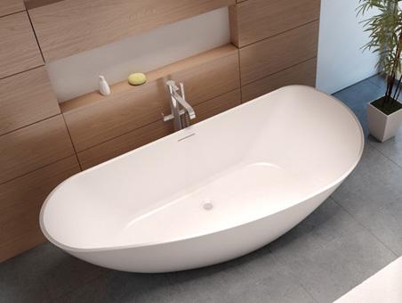 Granada БелыйВанны<br>Ванна из литого мрамора Riho Granada BS15005. В стоимость входит только ванна.<br>