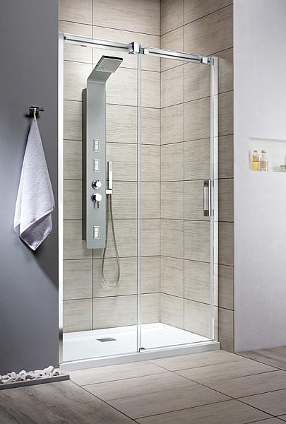 Espera DWJ 120 Профиль хром стекло зеркальное RДушевые ограждения<br>Radaway Espera 120 DWJ стекло зеркальное 8 мм с покрытием Easy Clean. Это покрытие позволяет уменьшить налет, что облегчает уход за кабиной. Артикул 380112-71R. Цена указана за душевое ограждение без поддона, поддоны заказываются отдельно.<br>