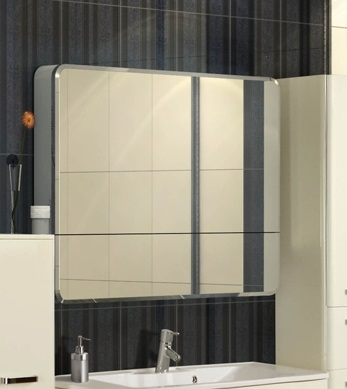 Валенсия 110 БелыйМебель для ванной<br>Акватон 1A125402VA010 Валенсия 110 зеркальный шкаф<br>