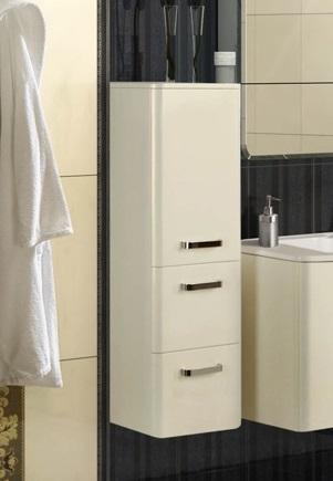 Валенсия Гранат леваяМебель для ванной<br>Акватон 1A123903VA34L Валенсия полуколонна<br>