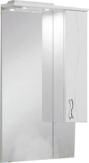 Зеркало со шкафом Акватон Дионис 1A006002DS01R Белое R