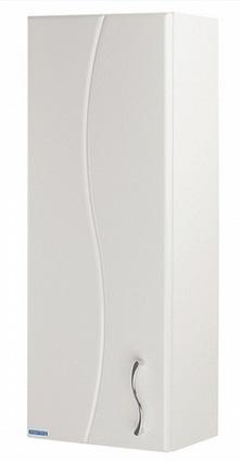 Дионис Белый левыйМебель для ванной<br>Акватон 1A006403DS01L Дионис шкаф одностворчатый левый<br>