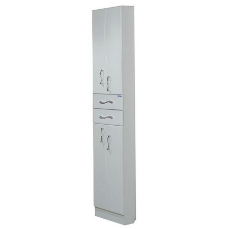 Дионис  БелыйМебель для ванной<br>Акватон 1A122103DS010 Дионис шкаф-колонна<br>
