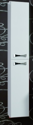 Диор  БелыйМебель для ванной<br>Акватон 1A110803DR010 Диор шкаф-колонна<br>