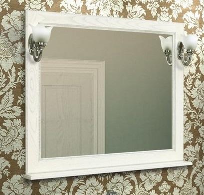 Жерона 105 Белое сереброМебель для ванной<br>Акватон 1A158802GEM20 Жерона 105 зеркало<br>