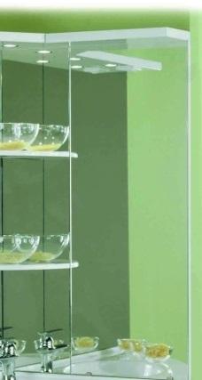 Корнер БелоеМебель для ванной<br>Акватон 1A0048D2KR01R Корнер дополнительное зеркало<br>