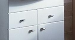 Кристалл СиниеМебель для ванной<br>Акватон 1A0548S1KS690 Кристал сменные фасады ящика тумбы-умывальника<br>