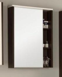 Крит 65 ВенгеМебель для ванной<br>Акватон 1A144202KT500 Крит 65 зеркальный шкаф<br>