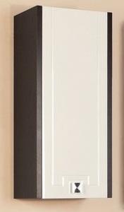 Крит  Венге левыйМебель для ванной<br>Акватон 1A163603KT50L Крит шкаф одностворчатый левый<br>